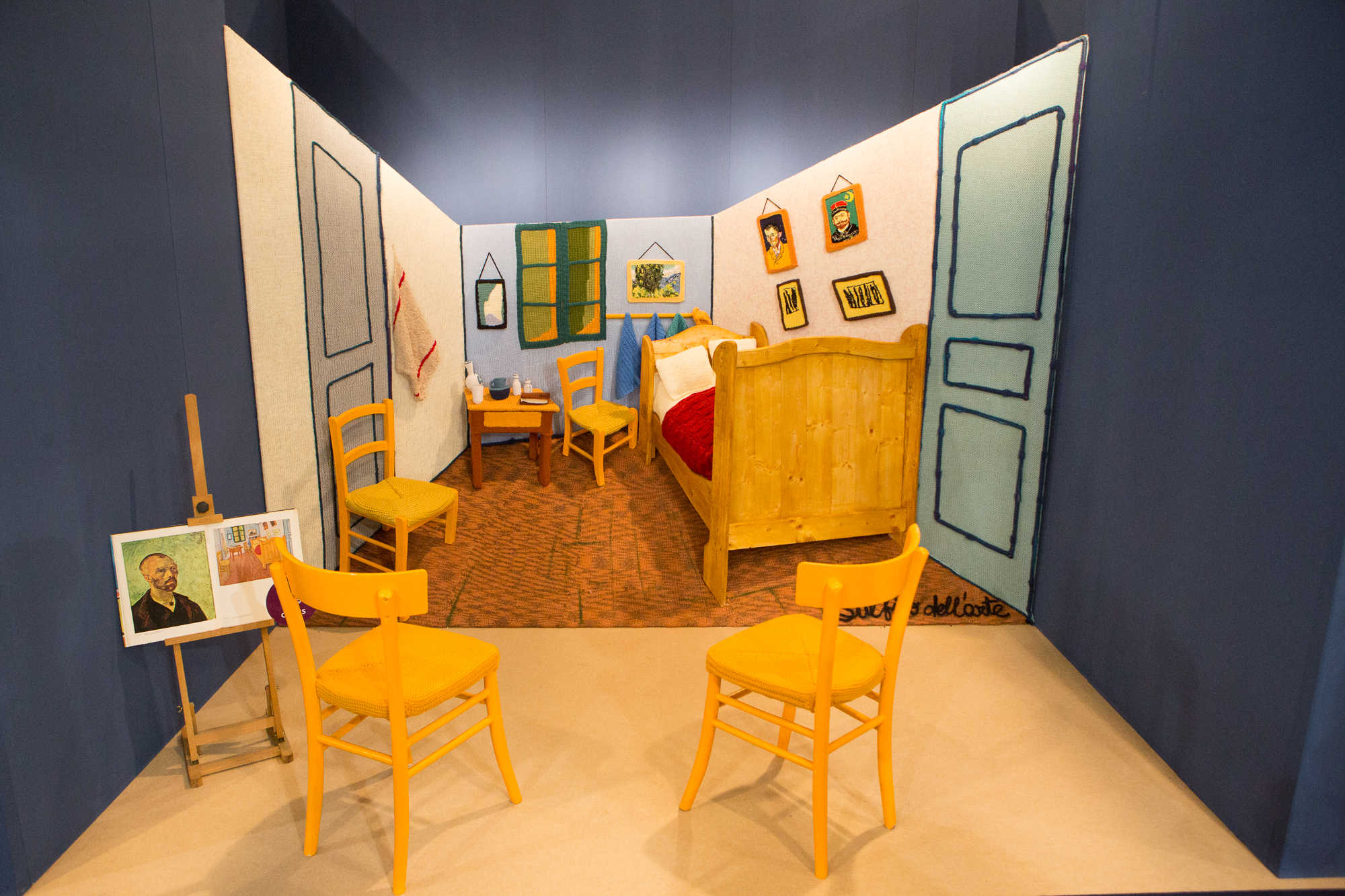 La camera di van gogh a maglia semieidee - La camera da letto van gogh ...