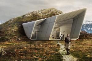 Il museo inglobato nella roccia