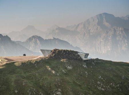 Il Messner Mountain Museum Corones: W la materia
