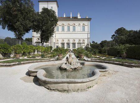 Il Giardino di Tramontana, altro gioiello di Villa Borghese