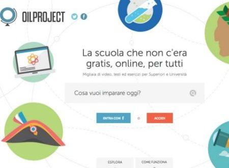 La storia più vicina:  Oilproject.org & Encyclomedia Online