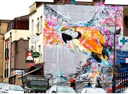 A Bristol si celebra la street art