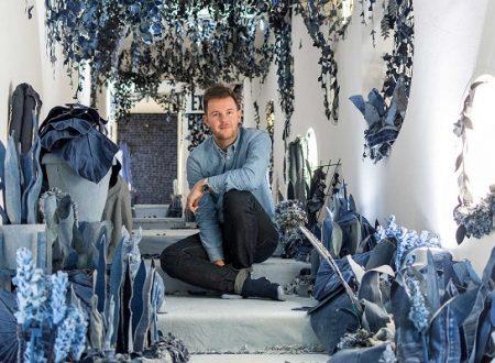 Che bello il giardino segreto tutto di jeans