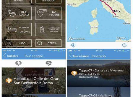 Ecco l'App della Via Francigena