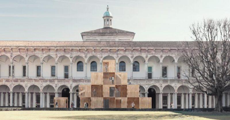 Multiply, la piramide a impatto zero, a Milano
